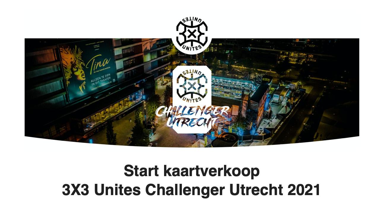 3 x 3 challenge kaartverkoop september 2021 Jaarbeurs Utrecht